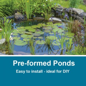 Pre-formed Ponds