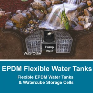 EPDM Flexible Water Tanks